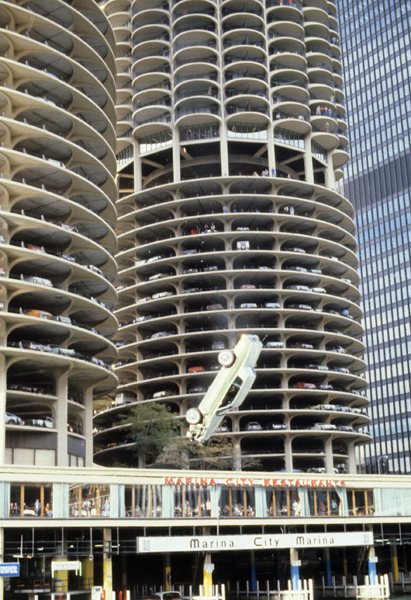 Marina City Marina, Chicago  - circa 1980