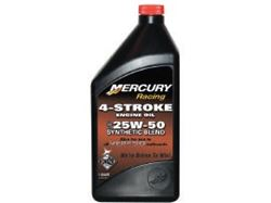 Picture of Mercury High Performance 4-Stroke Synthetic Blend Oil 25W50