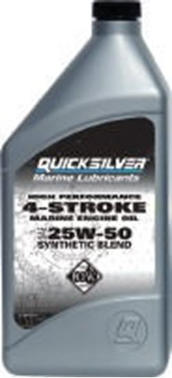 Genuine mercury mercruiser parts quicksilver synthetic for How often to change synthetic blend motor oil