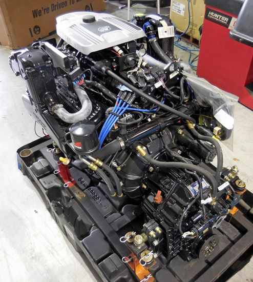 Mercruiser 377 6.2L MIE DTS Engine Hurth 630V 2.0:1 for sale