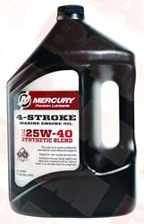 Mercury-Mercruiser 92-8M0078630 4-Cycle Oil, Synthetic Blend 1 Gallon