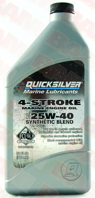 Quicksilver 25W40 synthetic oil