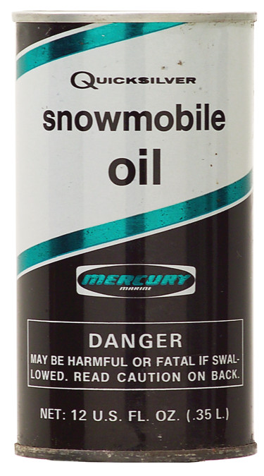 Quicksilver snowmobile oil