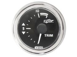 Picture of Mercury-Mercruiser 79-879914K21 TRIM GAUGE (Black)