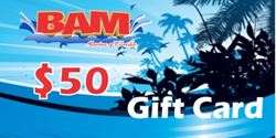 Picture of BAM Marine $50 gift card