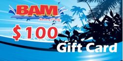 Picture of BAM Marine $100 gift card