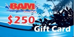 Picture of BAM Marine $250 gift card