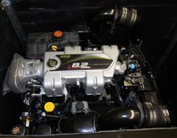 Picture of Mercruiser OEM 8.2L MAG ECT Bravo MPI Engine 6 in Risers