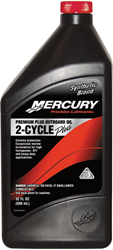 Mercury premium plus outboard oil 2 cycle plus 32 fl oz