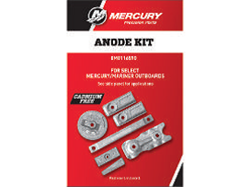 Mercury aluminum anode kit for Verado 350