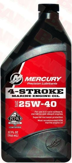 Mercury-Mercruiser FC-W 92-8M0078627 4-CYCLE Marine Oil 1 Quart