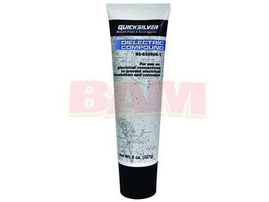 Picture of Mercury Quicksilver 92-8235061 Silicone Dielectric Compound 8 Oz Tube