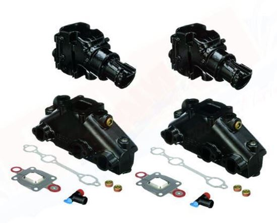 Mercury-Mercruiser 8M0164160 Dry Joint Manifold & Elbow Conversion Kit V6 small block